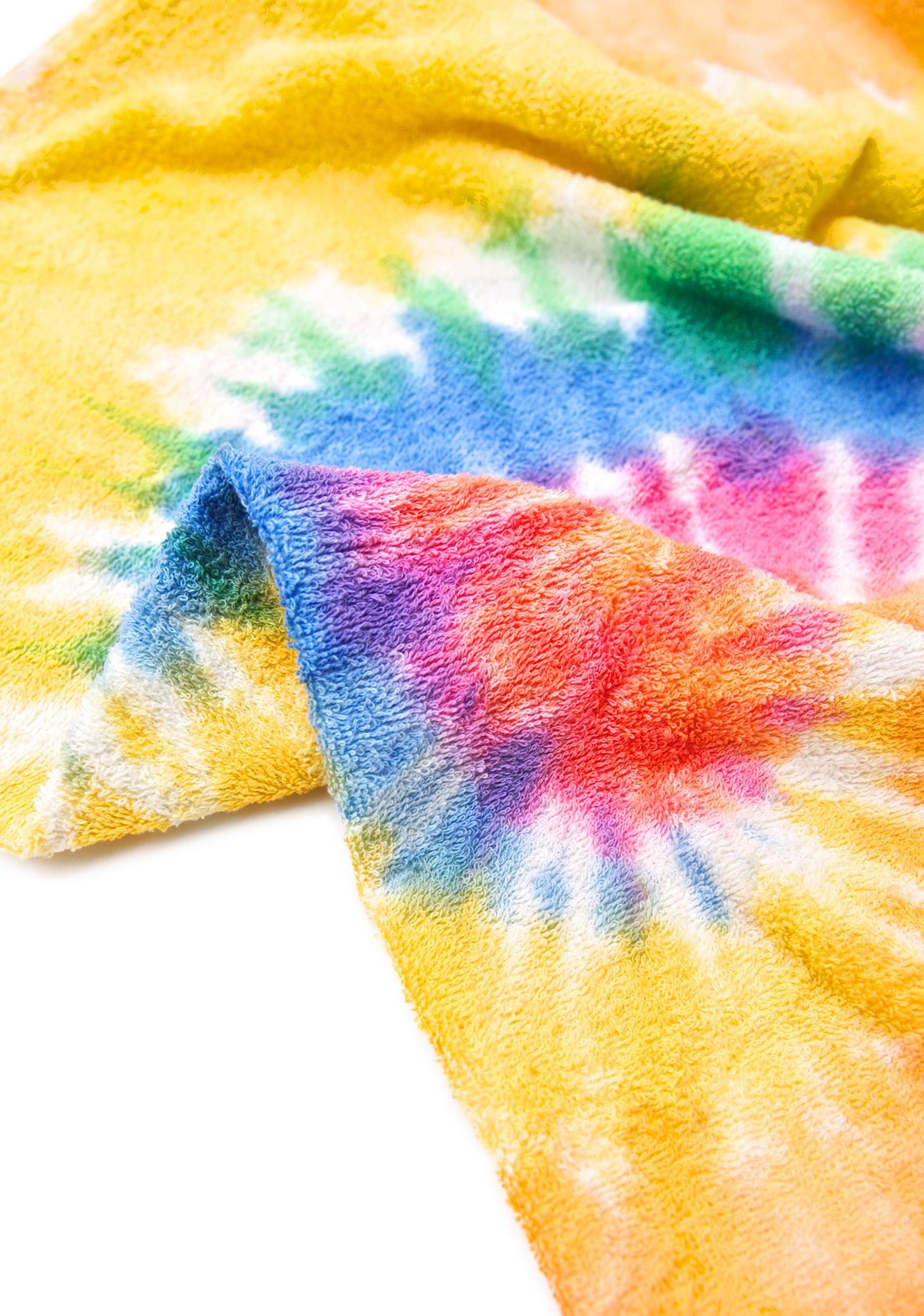 Eternity Tie Dye Beach Towel
