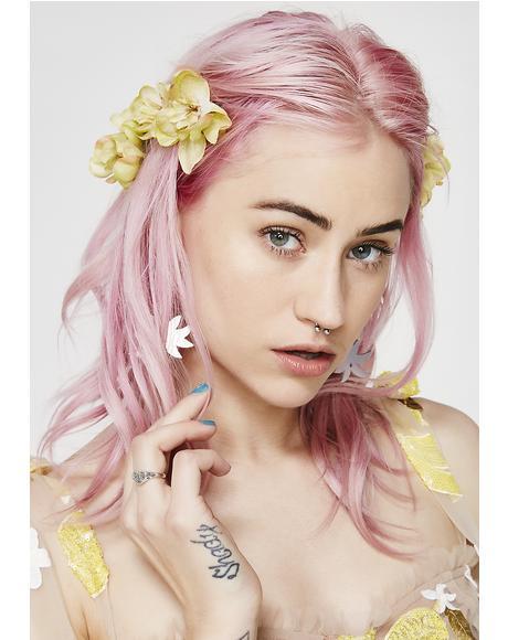 Sunny Franny Flower Hair Pins