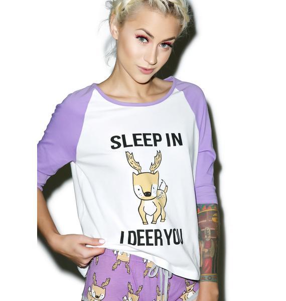 Mink Pink I Deer You Tee