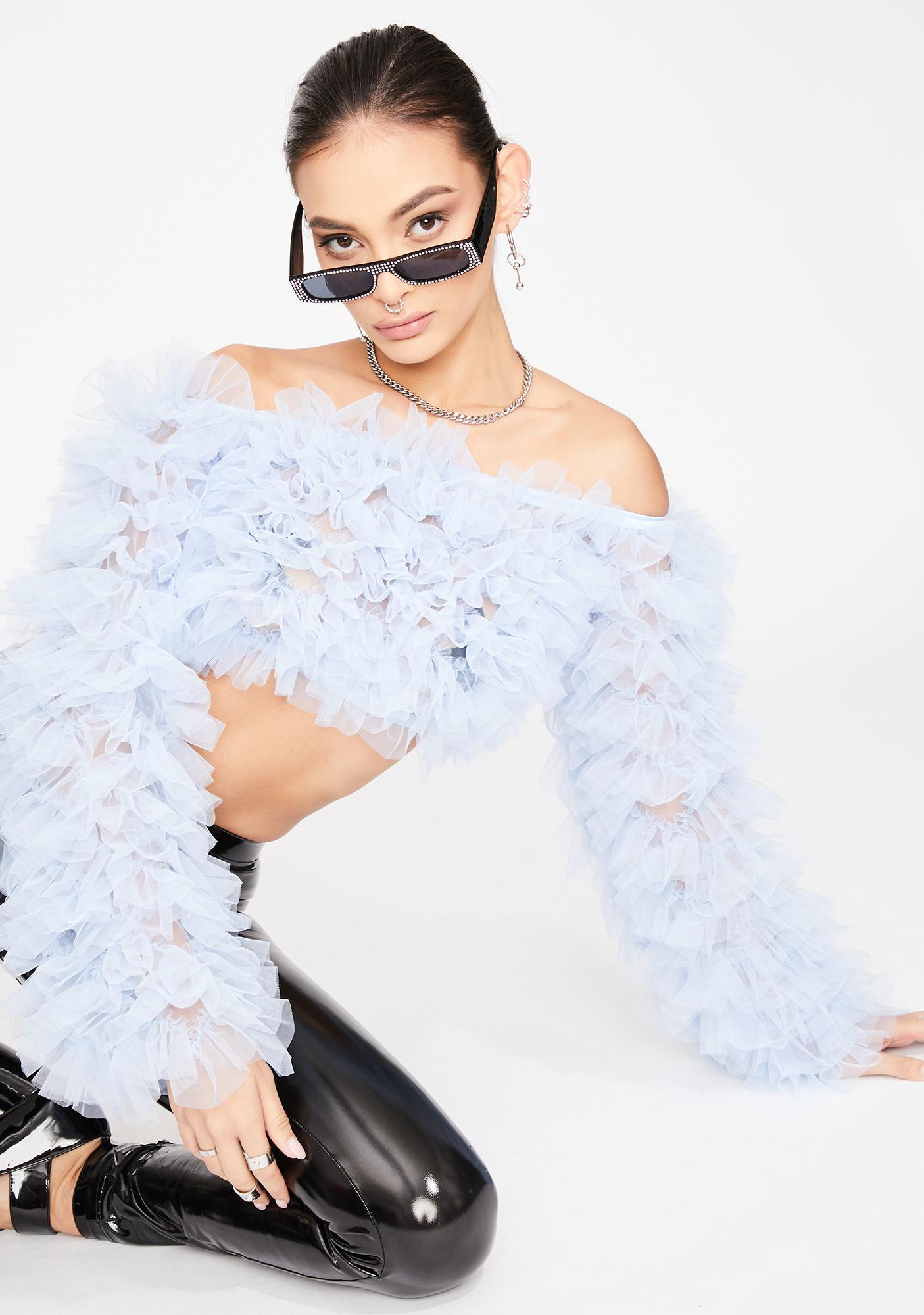Kiki Riki Chill Covergirl Flex Tulle Top