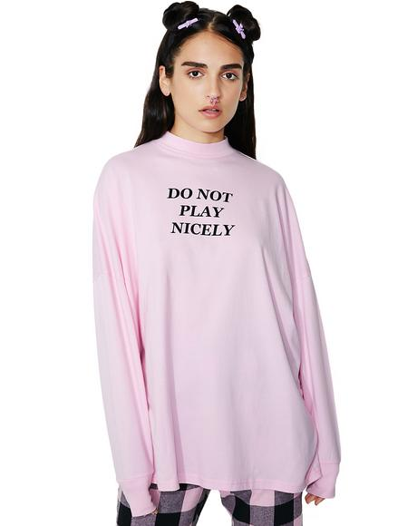Not Playing Long Sleeve Tee