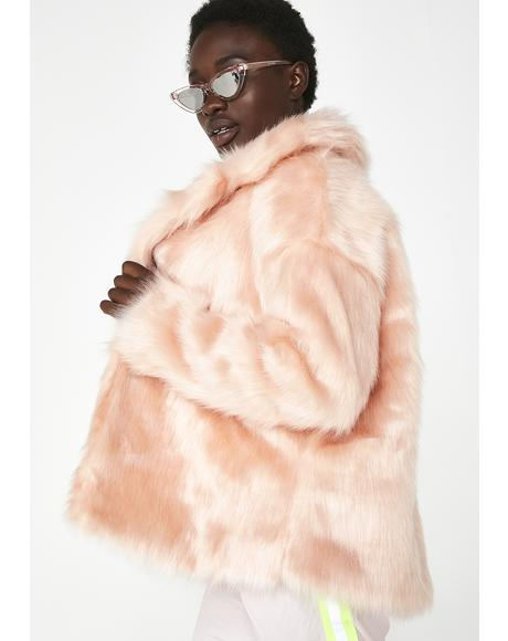 Hottest Commodity Fuzzy Coat