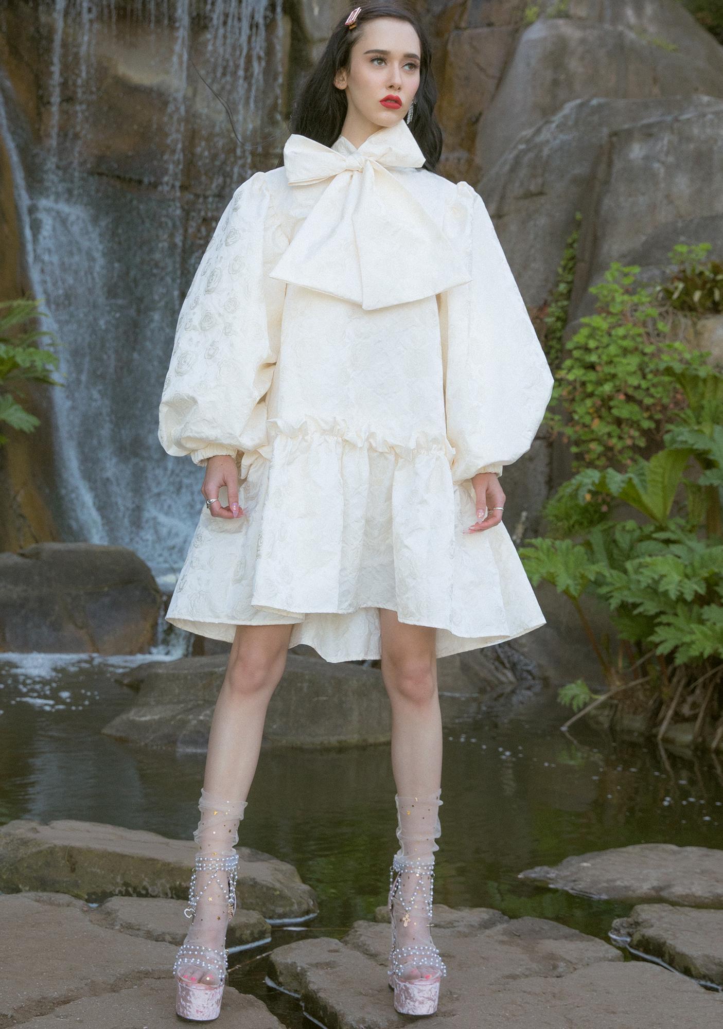 Sister Jane Leading Lady Oversized Mini Dress