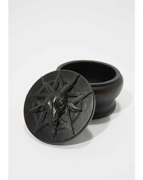 Black Baphomet Box