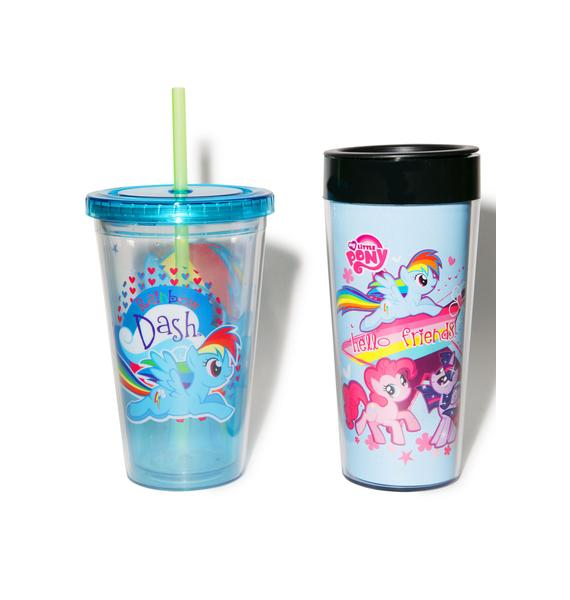 My Little Pony Cup Set