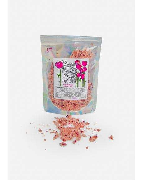 Rose Sugar Face Scrub