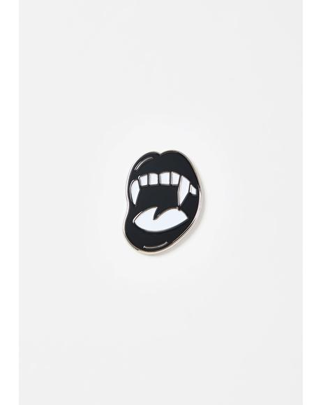 Blood Sucker Fangs Pin
