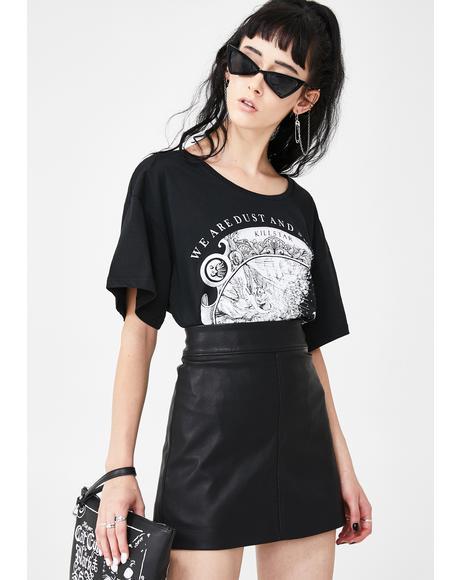 Deja Boo Mini Skirt