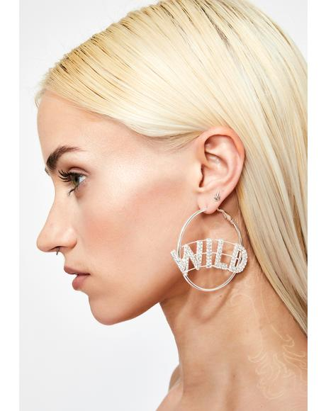 Wild AF Hoop Earrings