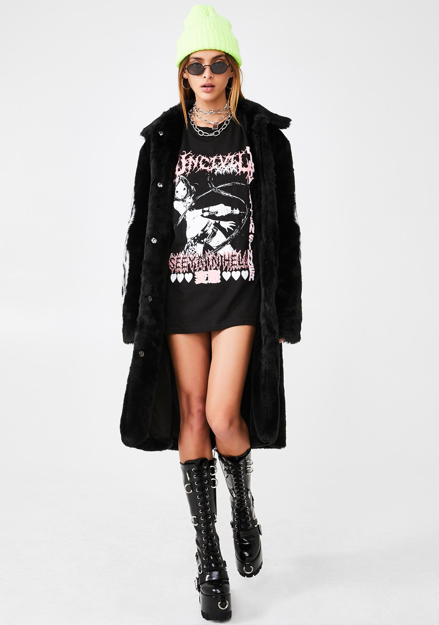 UNCIVIL XXX Dirty Rotten Sinner Graphic Tee