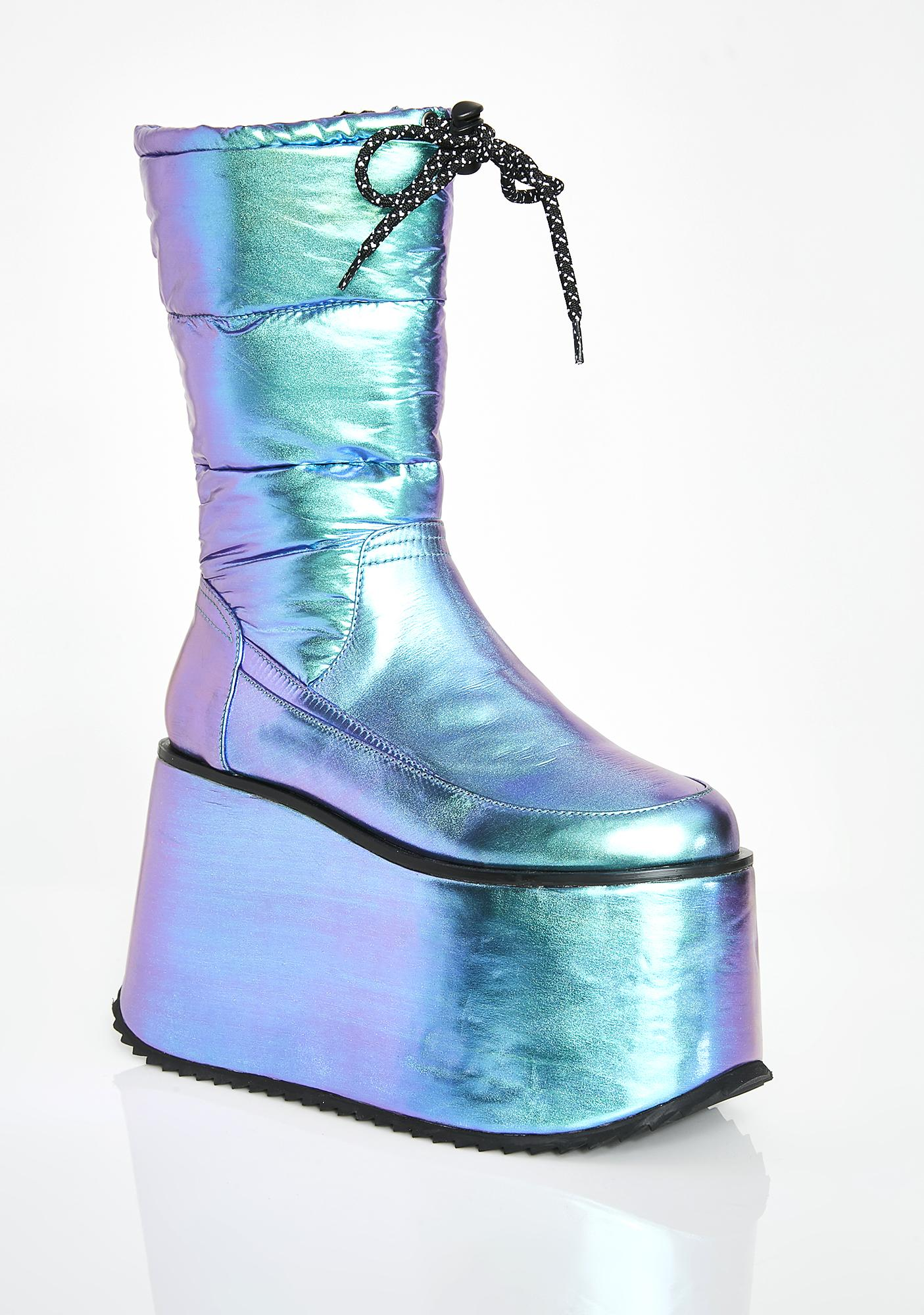 Club Exx Abominable Snowbabe Puffer Boots
