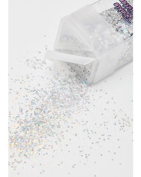 Chrome Glitterific Goddess Sparkle Shaker
