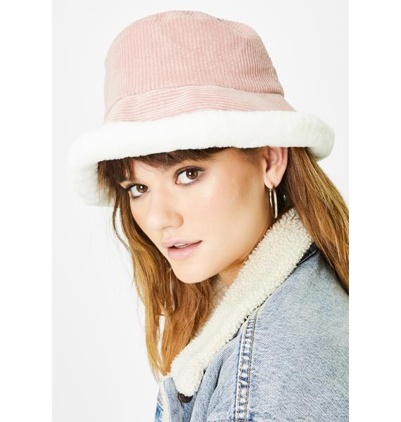 Doll Baby Corduroy Bucket Hat