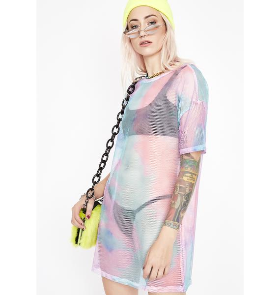 Lucid Lucy Tie Dye Dress