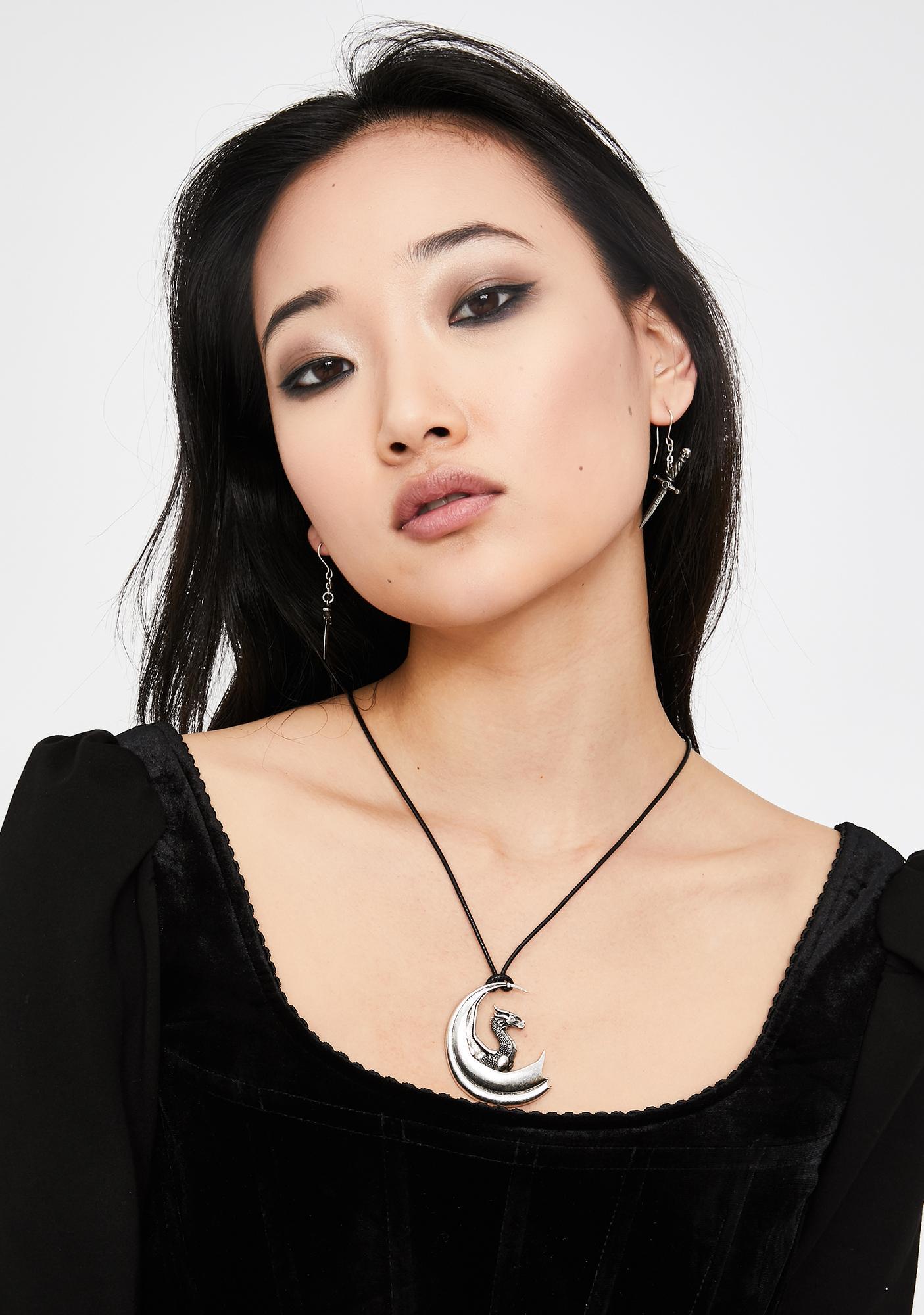Killstar Draco Pendant Necklace