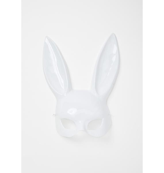 Purely Gettin' Busy Bunny Mask