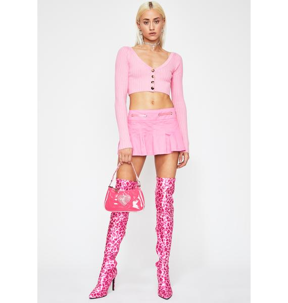 Mean Gurl Cropped Sweater