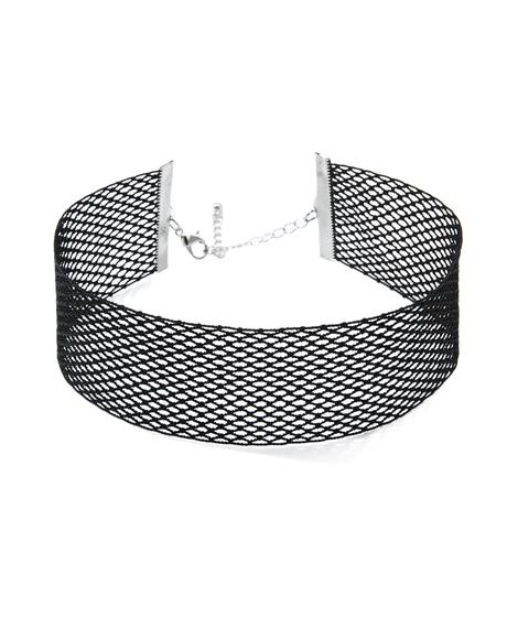 Sister Mercy Fishnet Choker