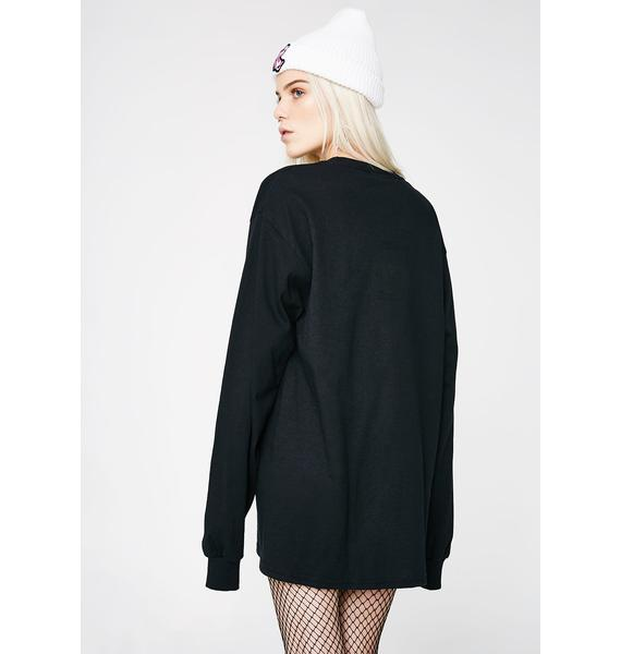 RIPNDIP Dark Lord Nermal Pocket Long Sleeve