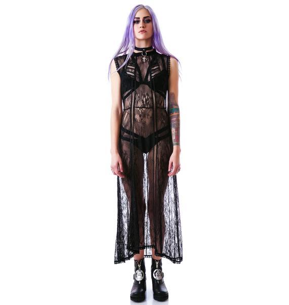 Mystic Magic Lace Maxi Dress