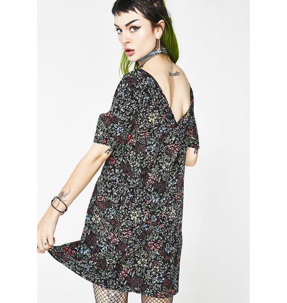 Glamorous Gloom N Bloom Floral Dress