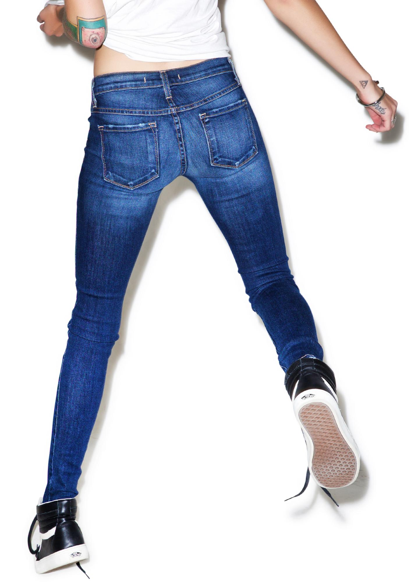 Dylan Distressed Skinny Jeans
