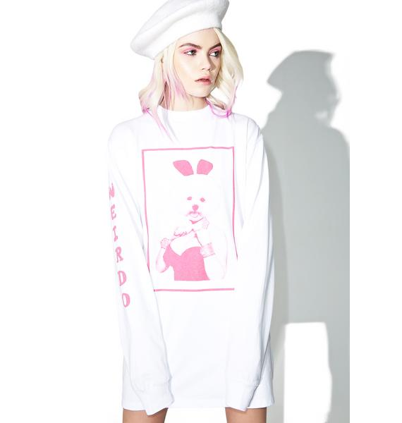Lazy Oaf Dolly Dog Long Sleeve Tee