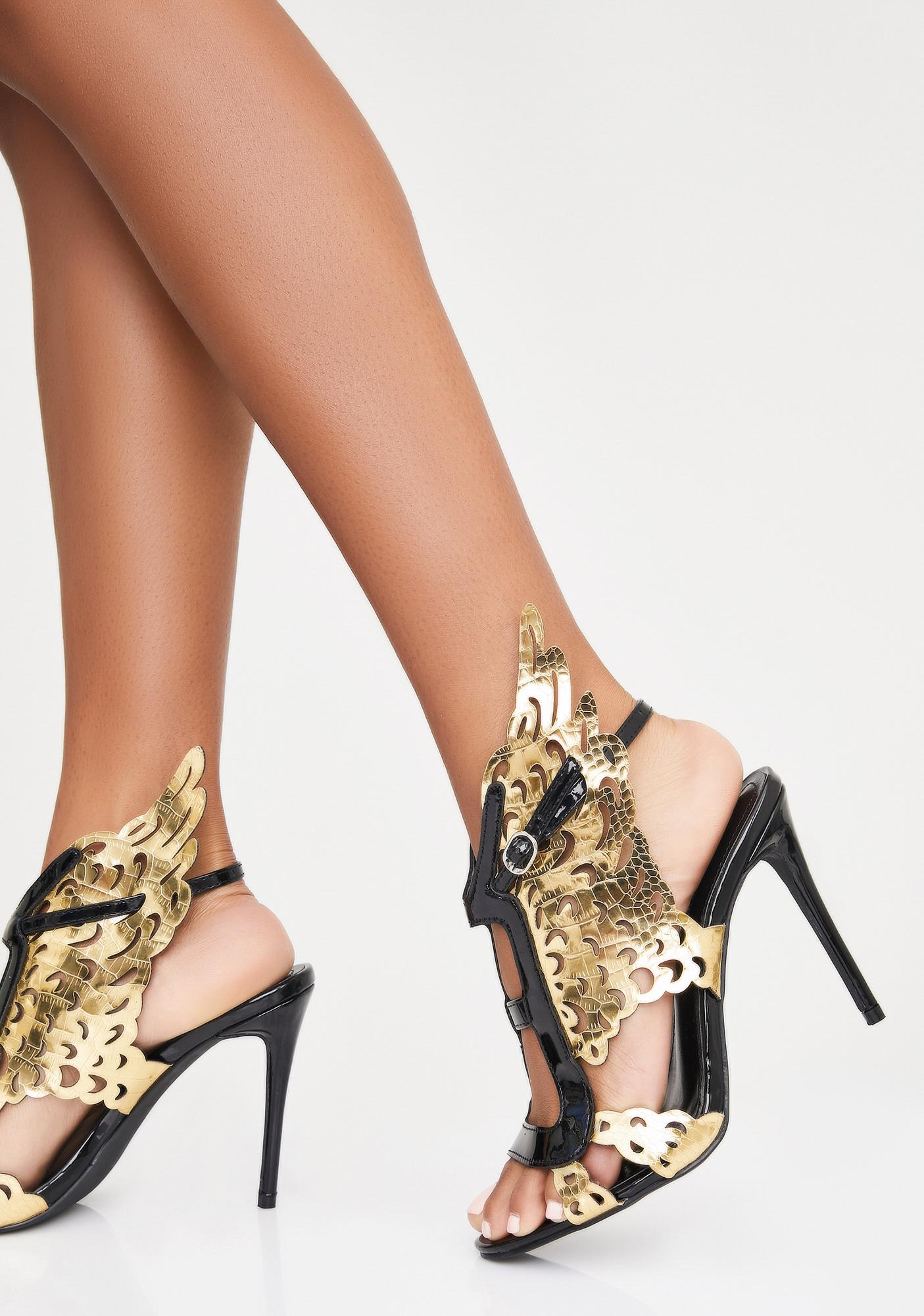 Like Angels Stiletto Heels