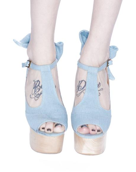 Wildfox x Jeffrey Campbell Dallas Platforms