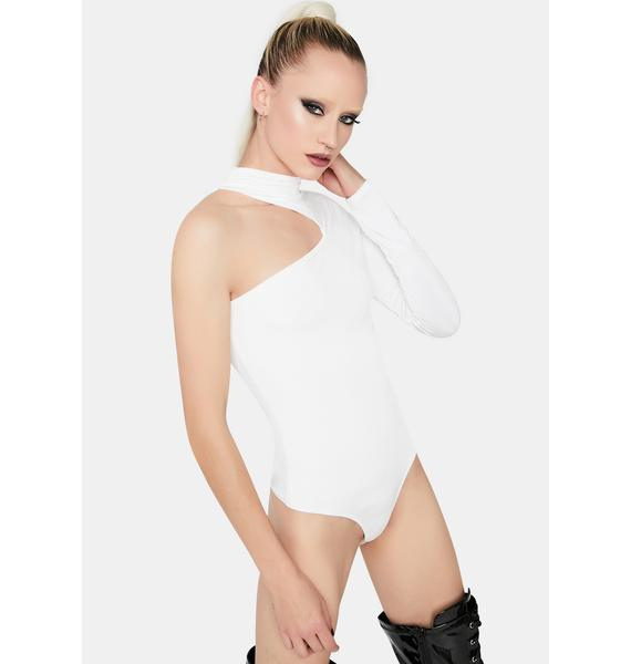 Chill Take A Look One Sleeve Bodysuit