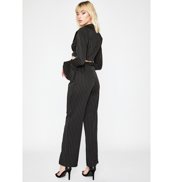 Point Blank Period Pinstripe Pants