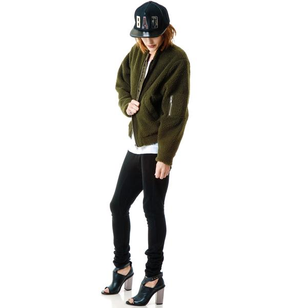 Cheap Monday Teddy Bomber Jacket