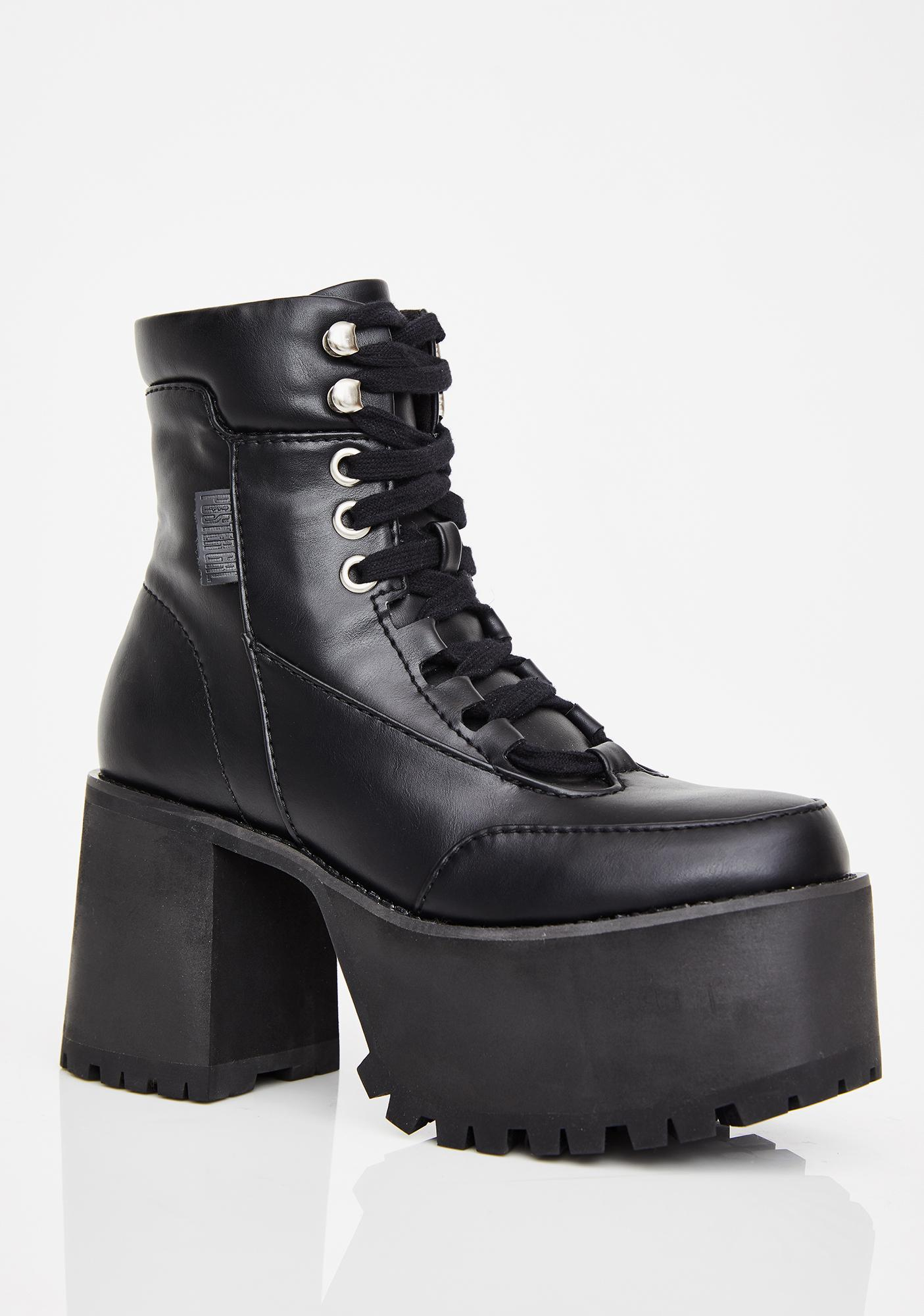Poster Grl Women Crush Eryday Chunky Platforms