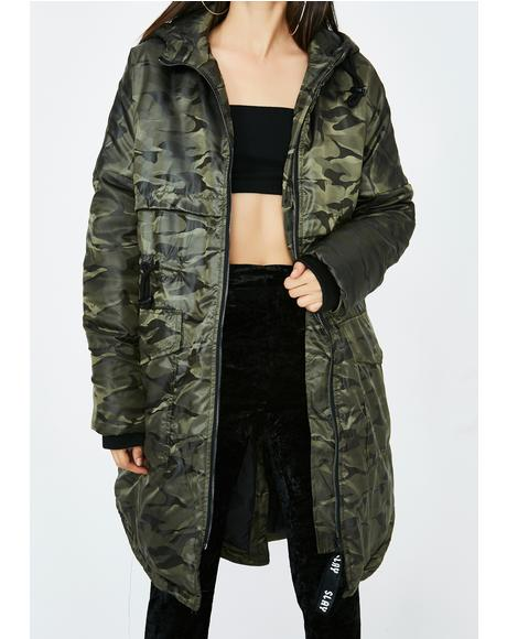 All Out War Camo Jacket