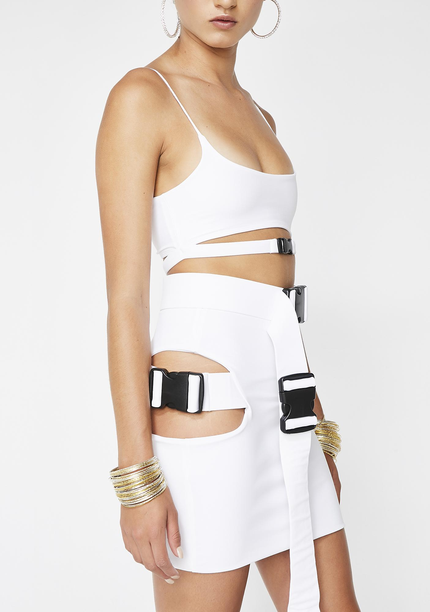 Lipt The Label Pure Buckle Skirt