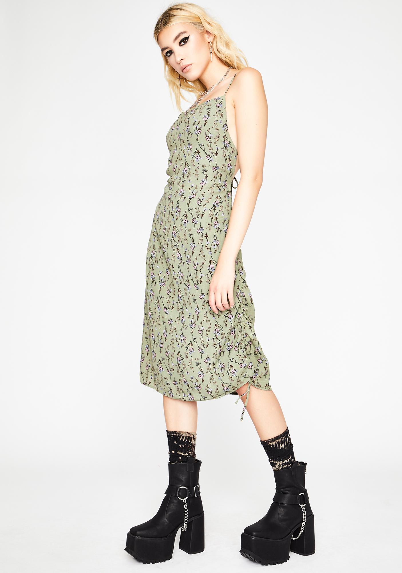 Such A Flirt Midi Dress