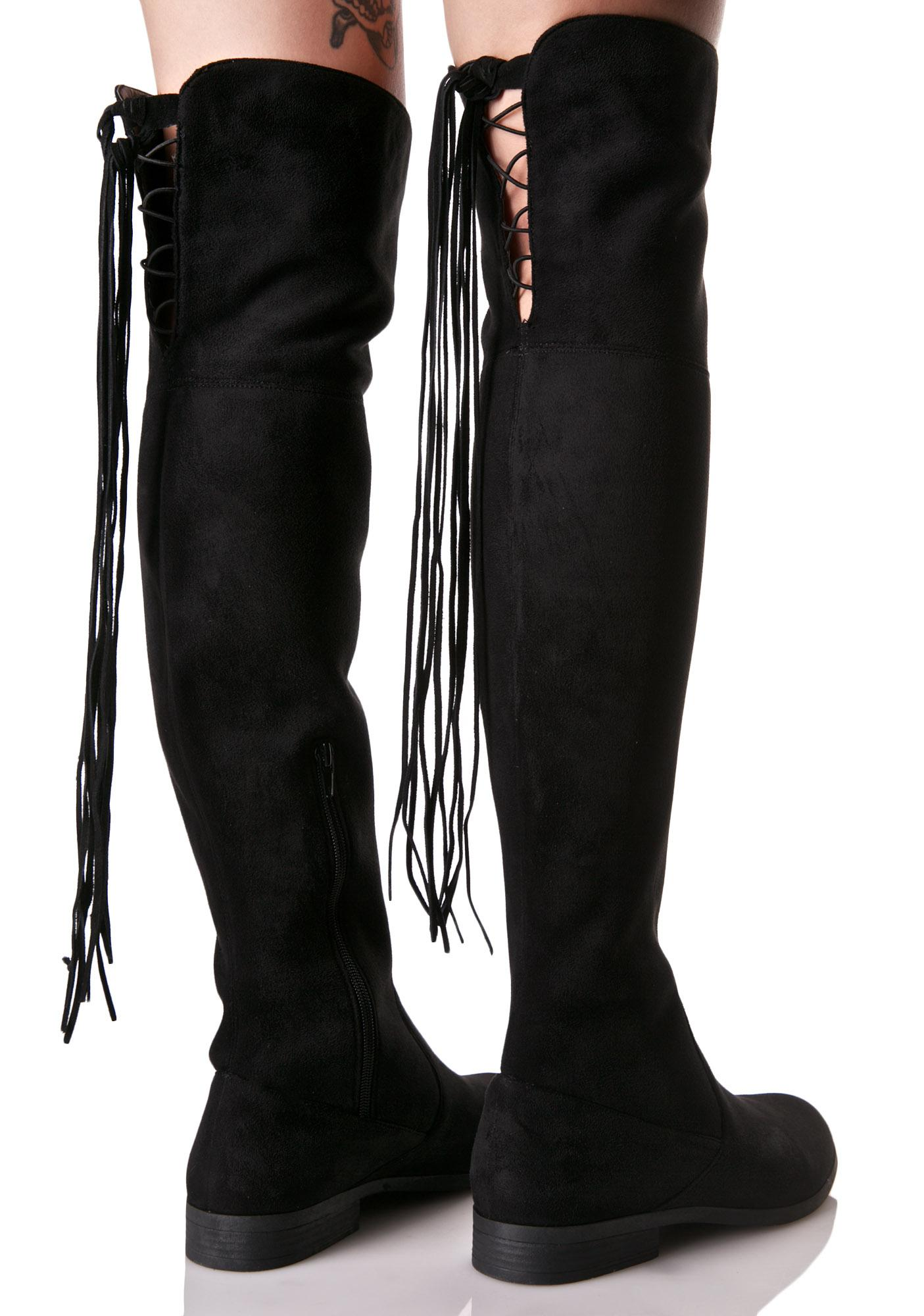 Lust For Life Rascal Knee-High Boots