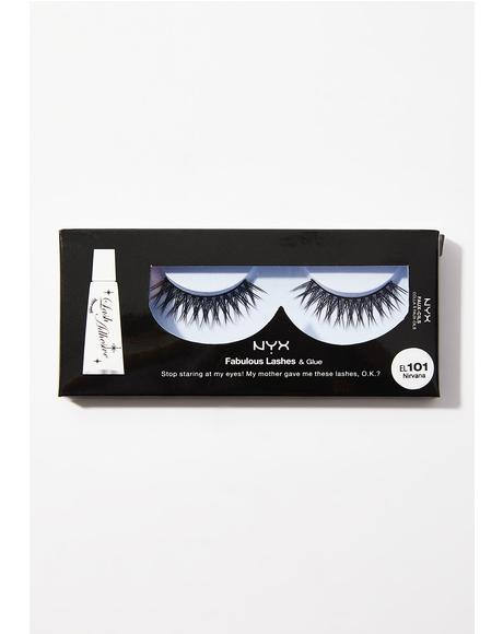 Nirvania Fabulous Lashes & Glue
