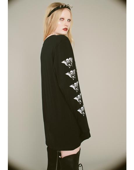 Veil Of Death Long Sleeve Tee