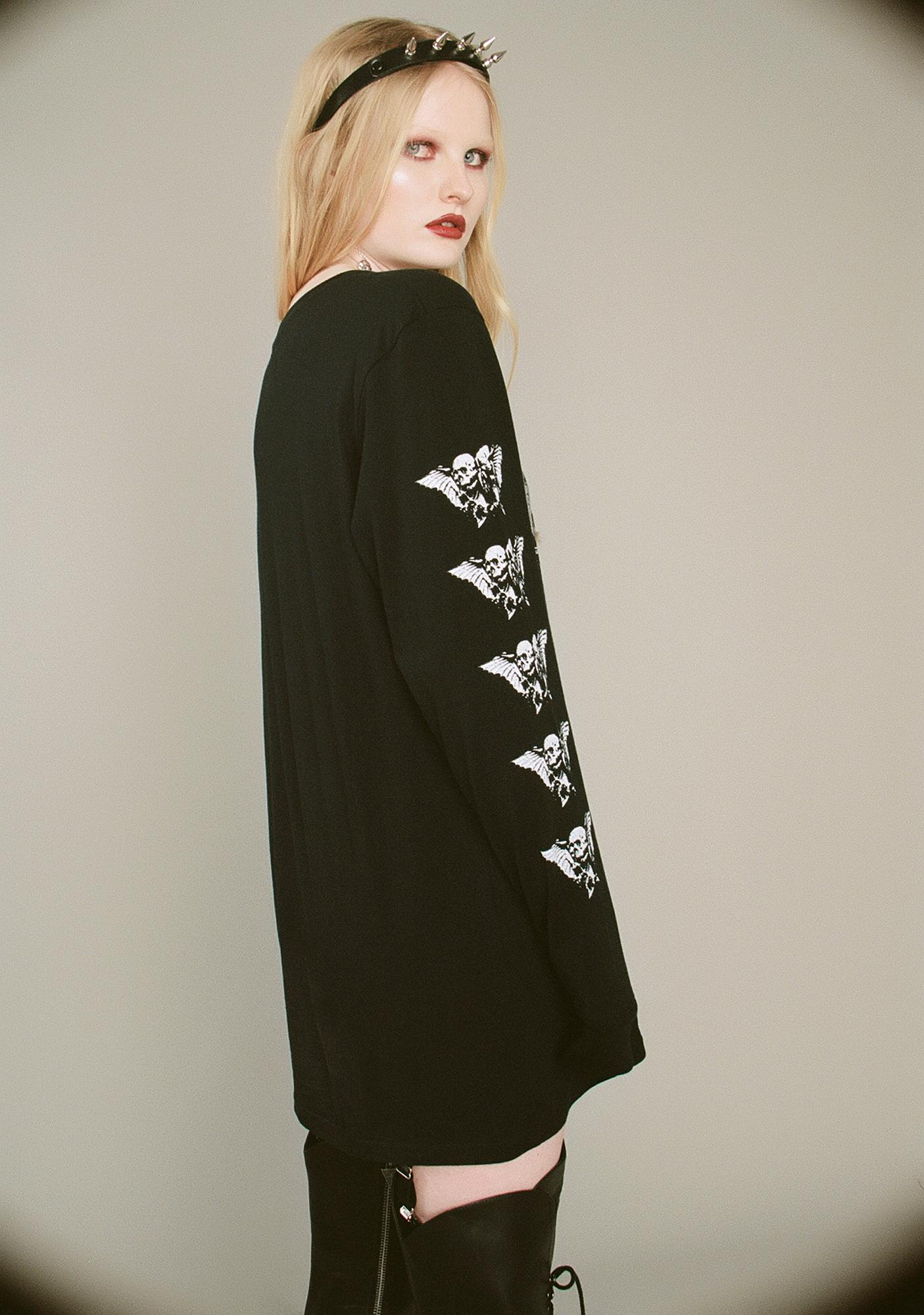 Widow Veil Of Death Long Sleeve Tee