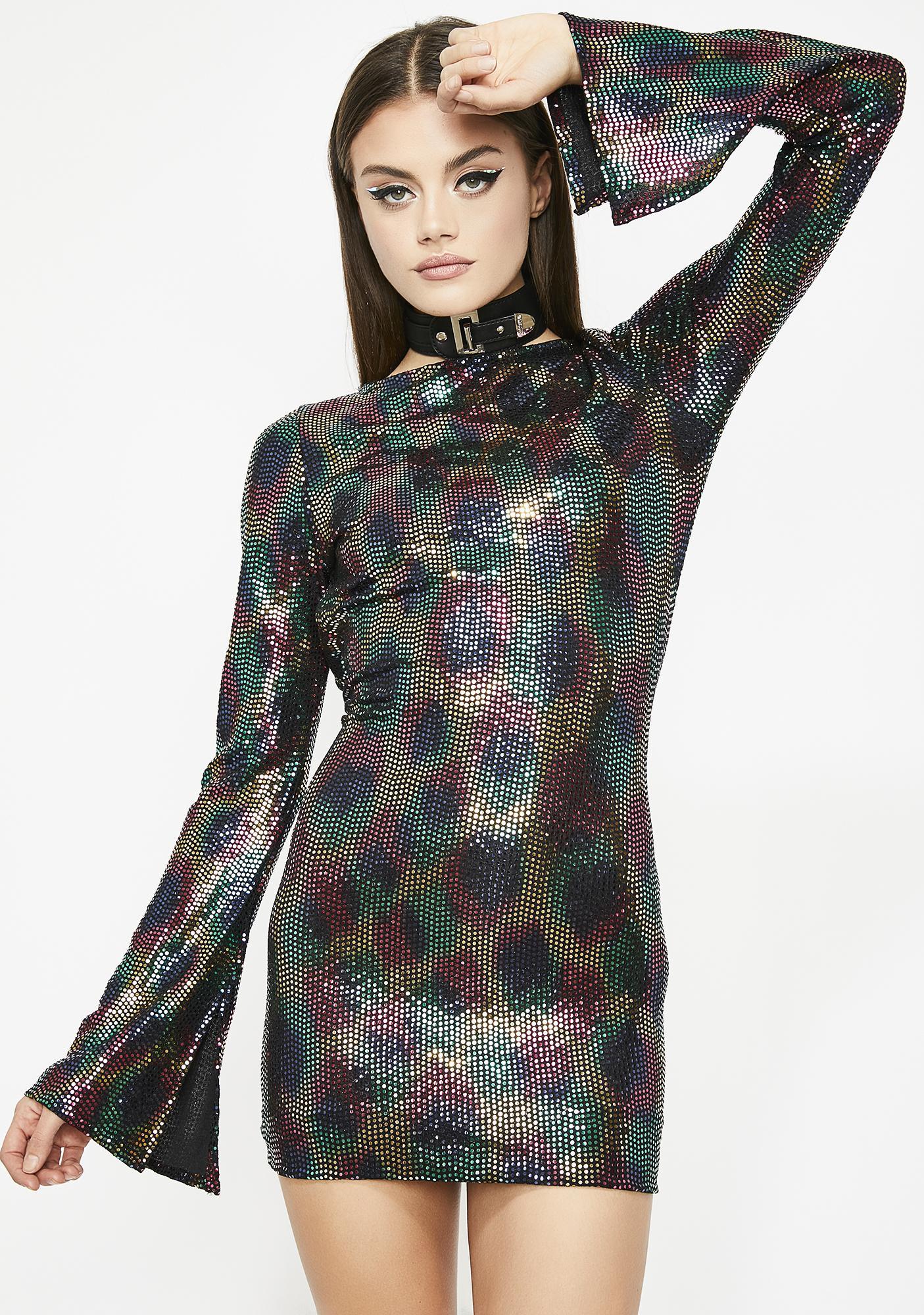 Spectrum Icon Sequin Dress