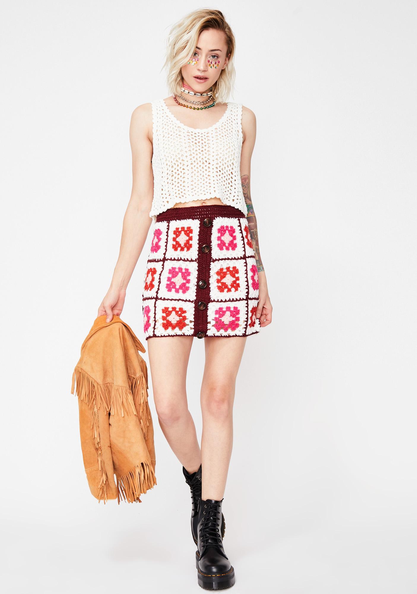 Arts N' Crafty Crochet Skirt
