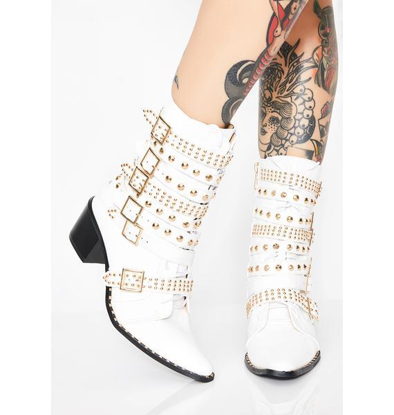Rockstar Tendencies Studded Boots