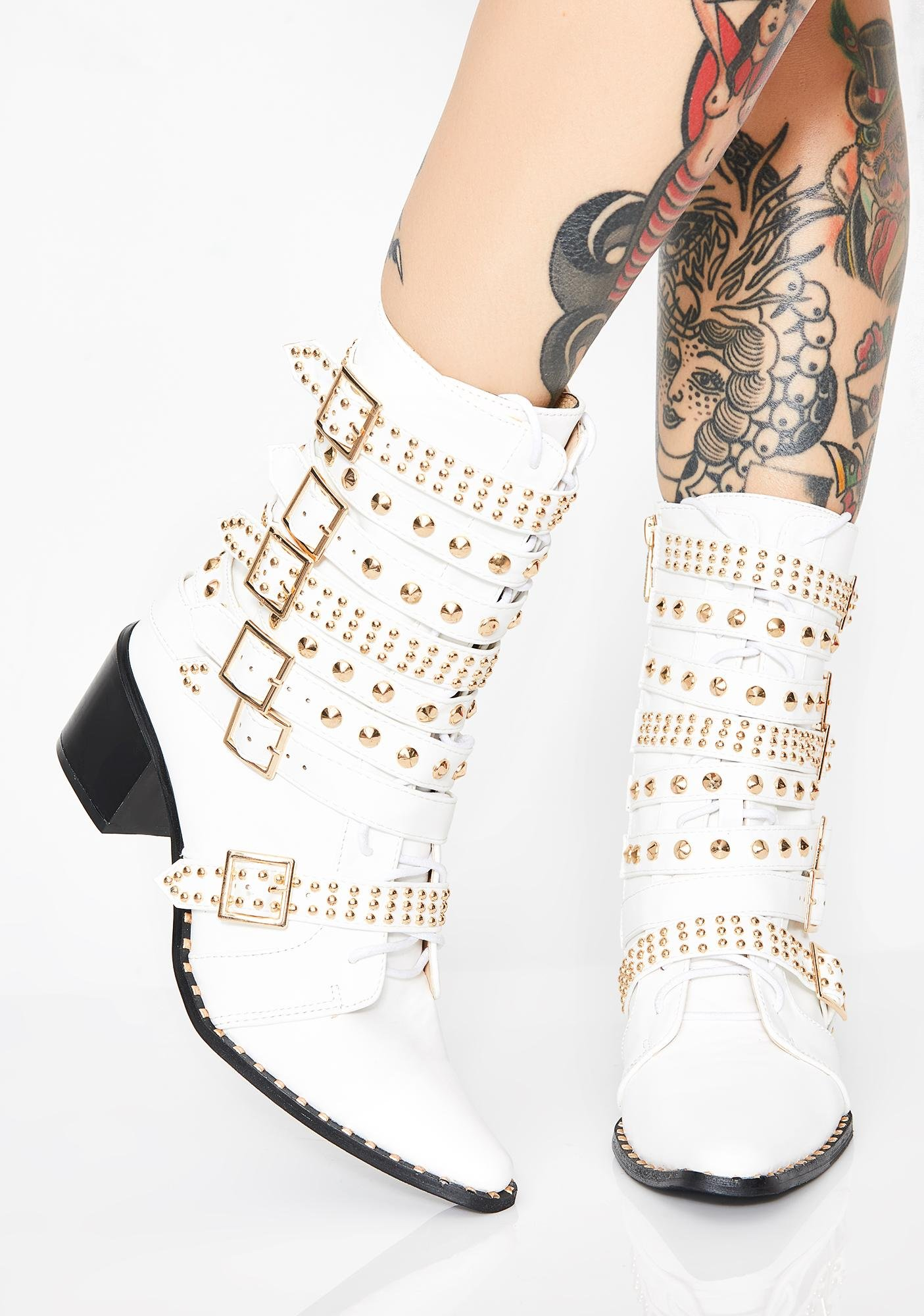 Rockstar Tendencies Studded Boots