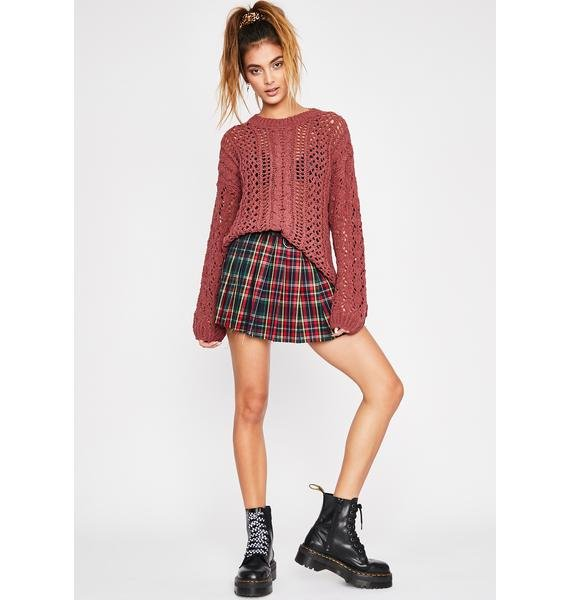 Sienna Fall For You Knit Sweater