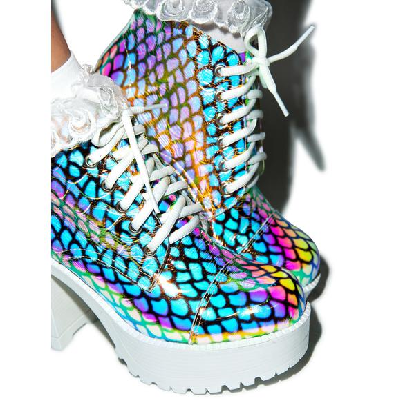 ROC Boots Mermaid Ankle Boots