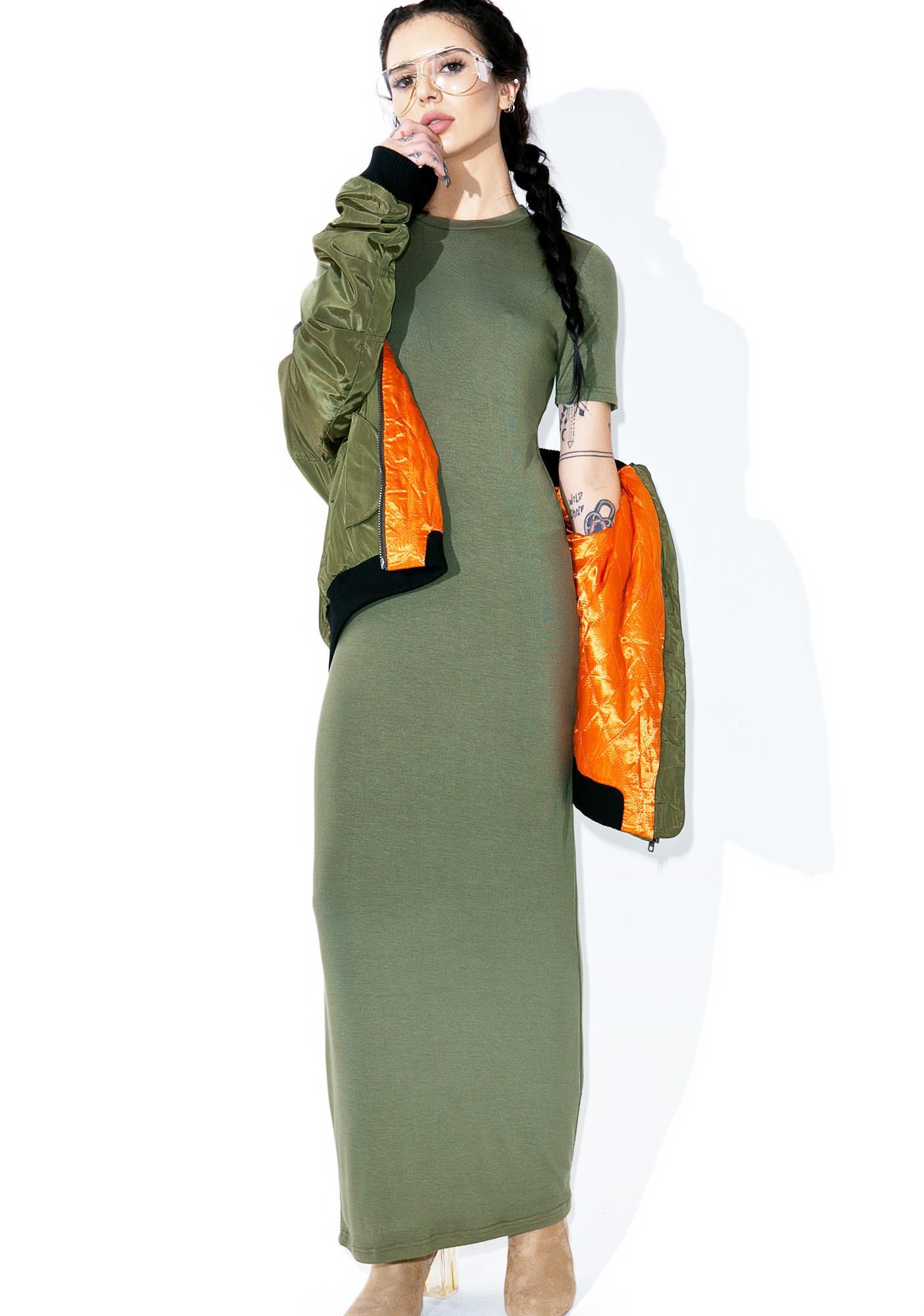 BLQ BASIQ Bae-Sick Maxi Dress