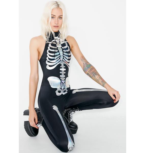 Dolls Kill Bangin' Bod Anatomy Jumpsuit