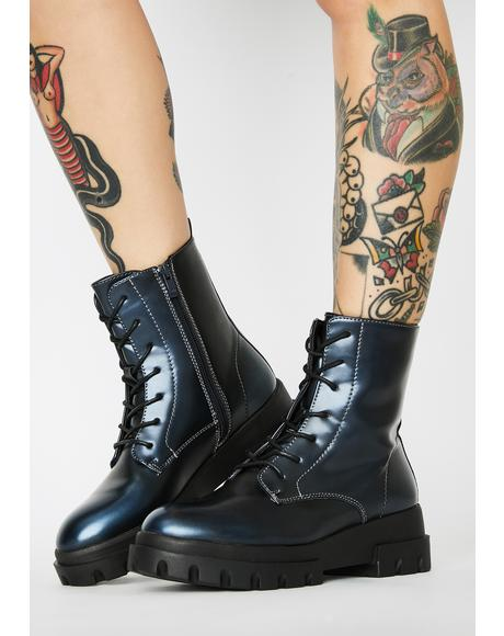 Reloaded Remix Combat Boots