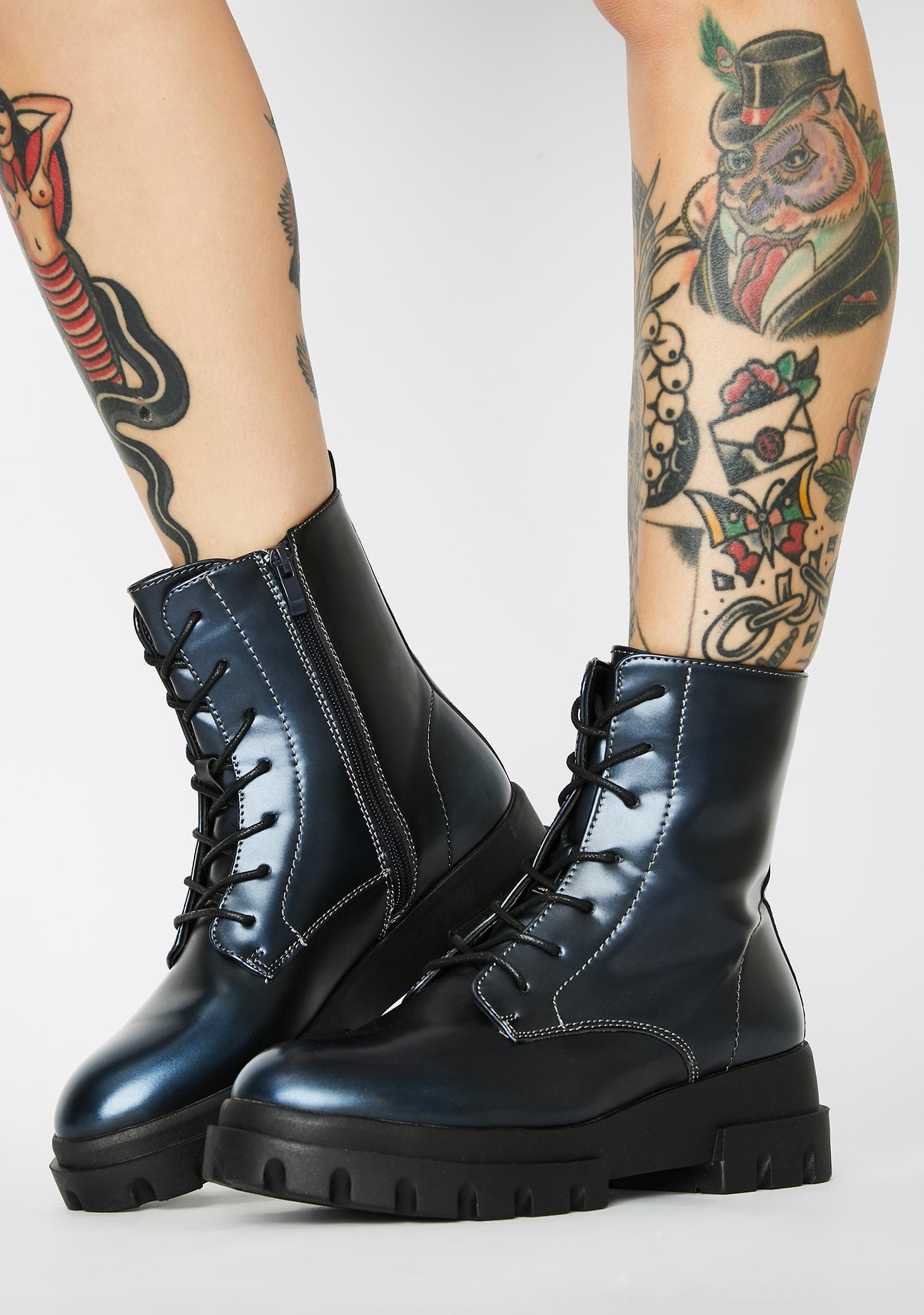 Reloaded Remix Combat Boots